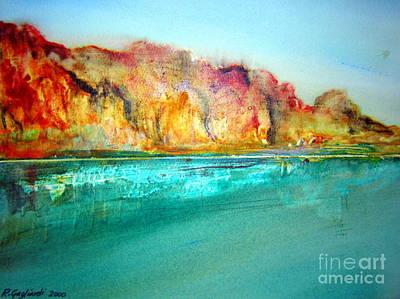 The Gorge Drawing -  The Kimberly Australia Nt by Roberto Gagliardi