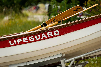 The Lifeguard Boat Art Print