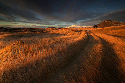 Perspective Photograph - ... The Long Winding Road by Raymond Hoffmann