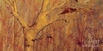 The  Loving  Birds Art Print