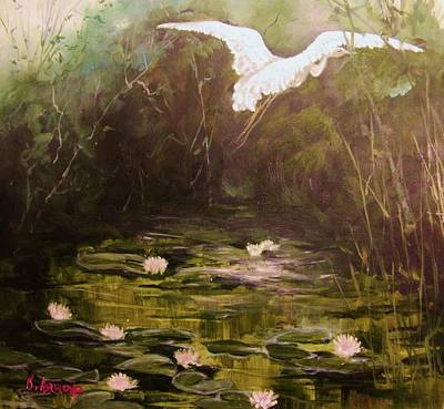 Painting -   The  Secret  Place by Beth Arroyo