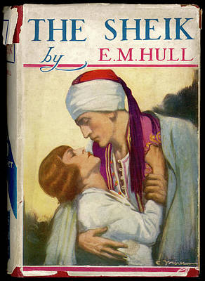 'the Sheik'  By E M Hull       Date Art Print by Mary Evans Picture Library