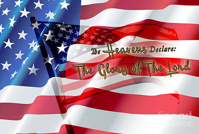 The Stars And Stripes Art Print by Beverly Guilliams