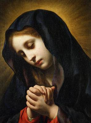 Annonciation Painting -  The Virgin Of The Annunciation by Carlo Dolci