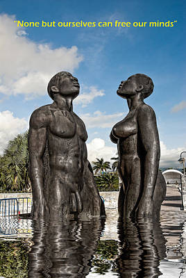 Photograph -  This Is Emancipation  by Errol Wilson