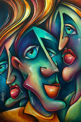 Animated Painting - ' Three ' by Michael Lang
