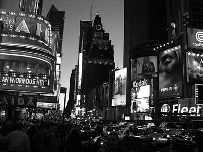 Photograph -  Times Square 2003 by John Schneider