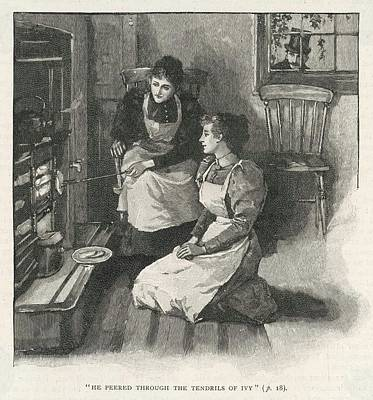 Grate Drawing -  Toasting Bread At A Grate         Date by Mary Evans Picture Library