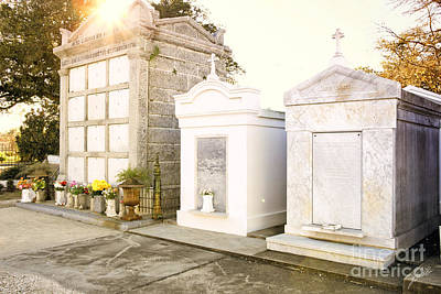 Art Print featuring the photograph   Tombstones  by Erika Weber