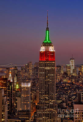 Photograph -  Top Of The Rock by Susan Candelario
