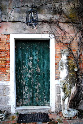Photograph -  Torcello Welcome by Jacqueline M Lewis