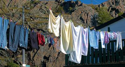 Photograph -   Towels And Jeans by Douglas Pike