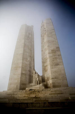 Arras Photograph -  Towers In The Mist by David Hare