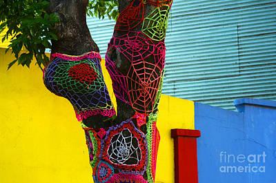 Tree Fashion Boca District Buenos Aires Art Print