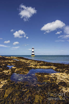 Photograph -  Trwyn Du Lighthouse by Ian Mitchell