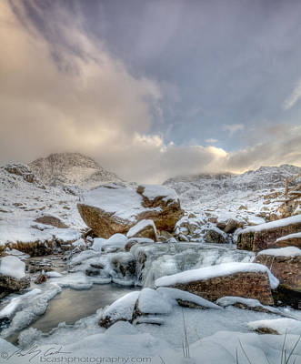 Photograph -  Tryfan And Snowy River by Beverly Cash