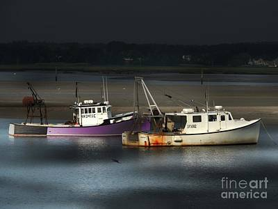 Photograph -  Two Fishing Boats by Marcia Lee Jones