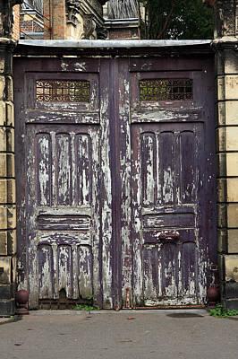 Old Door Photograph -  Urban Gateway by Aidan Moran