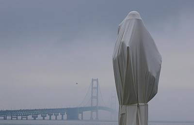 Art Print featuring the photograph  Veil Monument by Randy Pollard