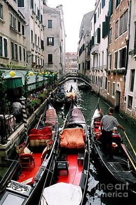 Venice Canal Art Print by Sandy MacNeil