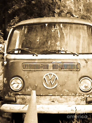 Photograph -  Volkswagon Truck Type Two by Craig Pearson