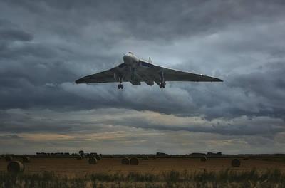 Vulcan Bomber Art Print
