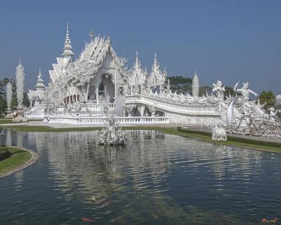 Photograph -  Wat Rong Khun Ubosot Dthcr0001 by Gerry Gantt