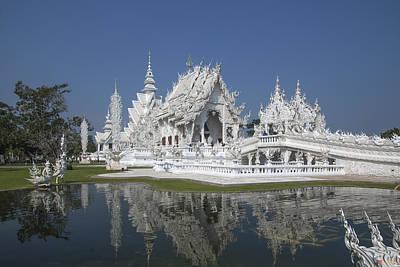 Photograph -  Wat Rong Khun Ubosot Dthcr0002 by Gerry Gantt