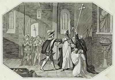 William I Arrests Odo, Bishop Art Print by Mary Evans Picture Library