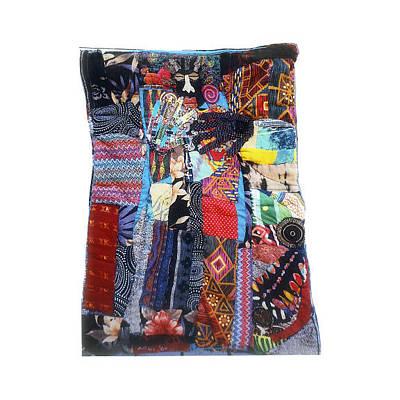 Tapestry - Textile -  Wisdom's Door by Gwendolyn Aqui-Brooks