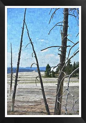 Yellowstone Park Art Print by Larry Stolle