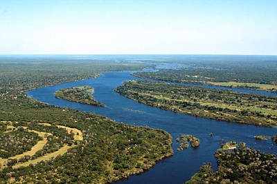 Photograph -  Zambezi River by Aidan Moran