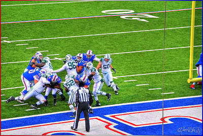 Thomas Kinkade Rights Managed Images - 0016  Buffalo Bills vs Jets 30DEC12 Royalty-Free Image by Michael Frank Jr