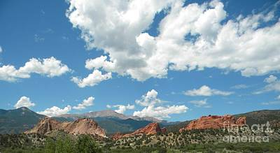 Photograph - Garden Of The Gods by Nathanael Smith