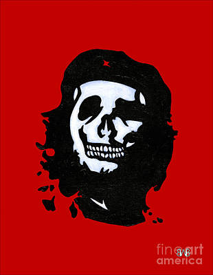 Socialism Painting - Che Of The Dead by Brian Bingham