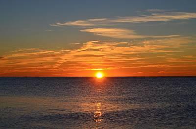 Photograph - 0102 Sunrise Colors On Navarre Beach by Jeff at JSJ Photography