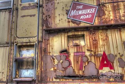 Milwaukee Road Photograph - 0113 The Milwaukee Road 4 by Steve Sturgill