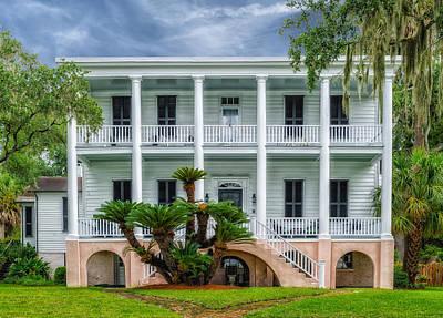 Historic Home - South Carolina Art Print