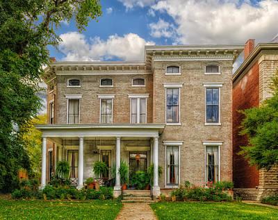 Old Houses Photograph - Saint James Court District by Frank J Benz