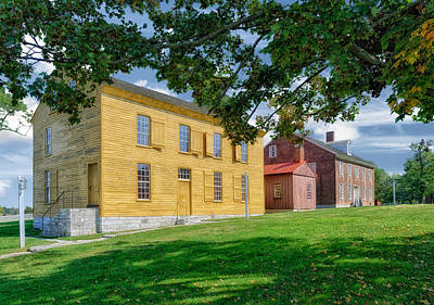 Historic Buildings - Kentucky Art Print