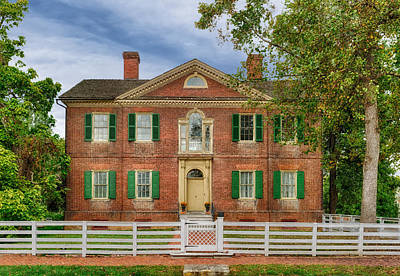 Photograph - Liberty Hall - Frankfort Ky - 1796 by Frank J Benz
