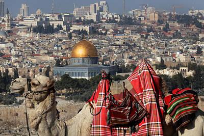 014 Jerusalem Art Print by Alex Kolomoisky