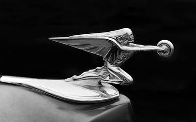 Photograph - Packard Hood Ornament by Frank J Benz