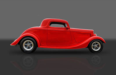 Street Rod Photograph - 1933 Ford Coupe by Frank J Benz