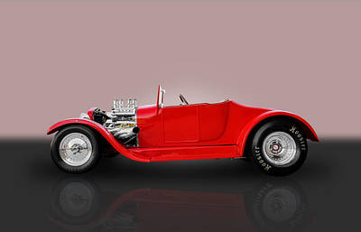 1927 Ford Roadster Photograph - 1927 Ford Model T by Frank J Benz