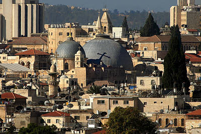 015 Jerusalem Art Print by Alex Kolomoisky