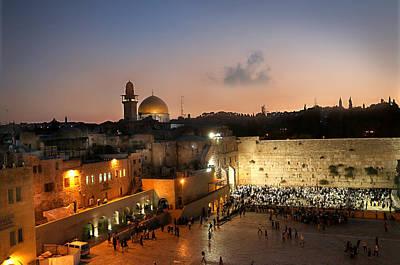 017 Jerusalem Art Print by Alex Kolomoisky