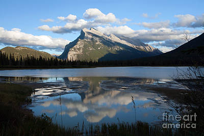 Target Threshold Photography - 0174 Rundle Mountain by Steve Sturgill
