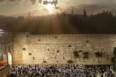 018 Jerusalem Art Print by Alex Kolomoisky