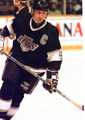 01.wayne Gretzky.la King.jpg Art Print